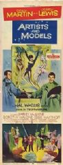 Artists and Models 1955 DVD - Dean Martin / Jerry Lewis